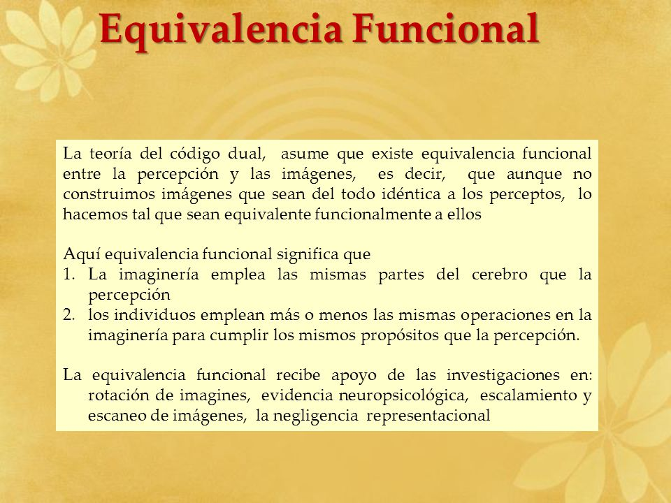 Equivalencia Funcional