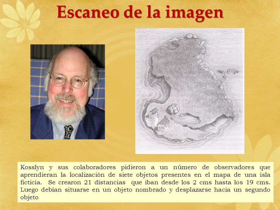 Escaneo de la imagen