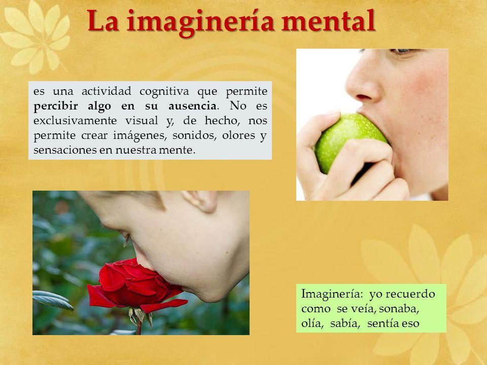 La imaginería mental