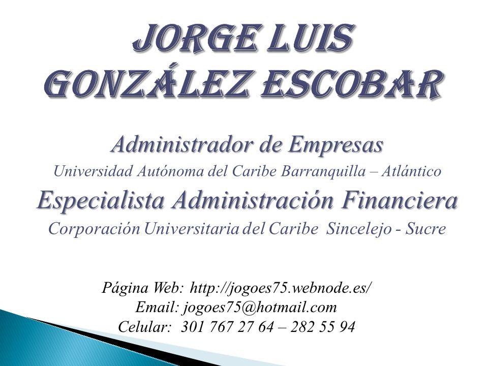 Jorge Luis González Escobar