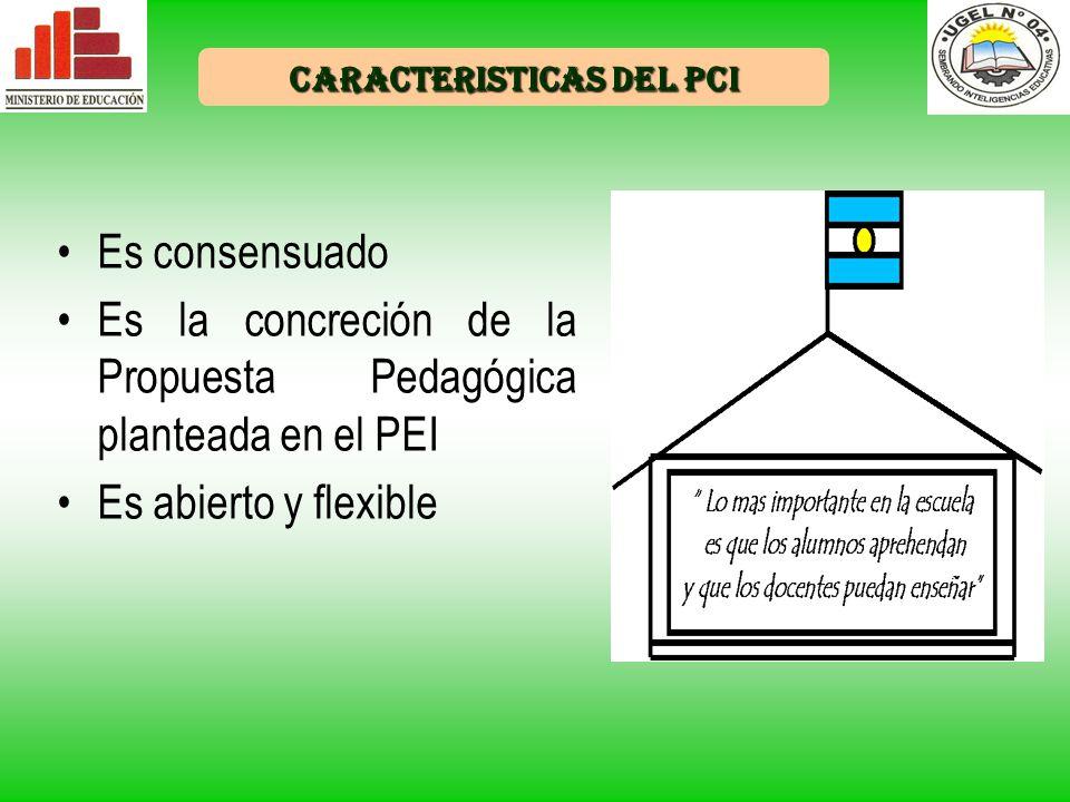 CARACTERISTICAS DEL PCI