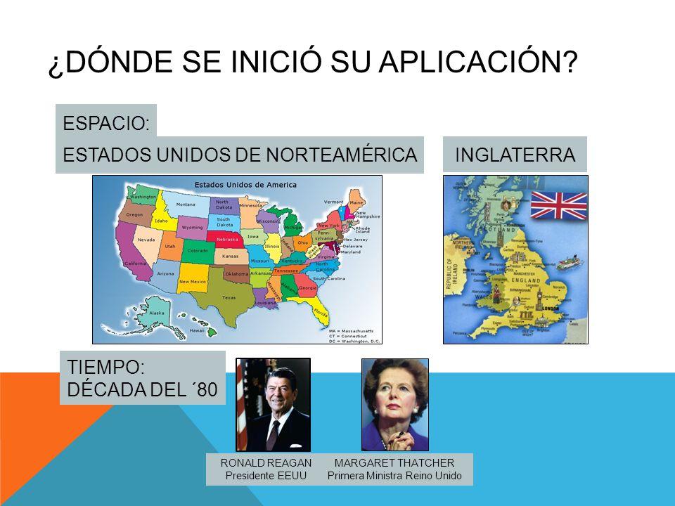 ¿DÓNDE SE INICIÓ SU APLICACIÓN