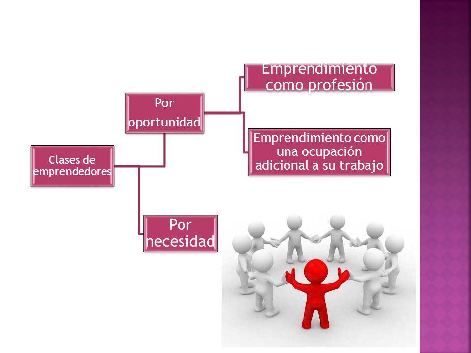 Emprendimiento como profesión