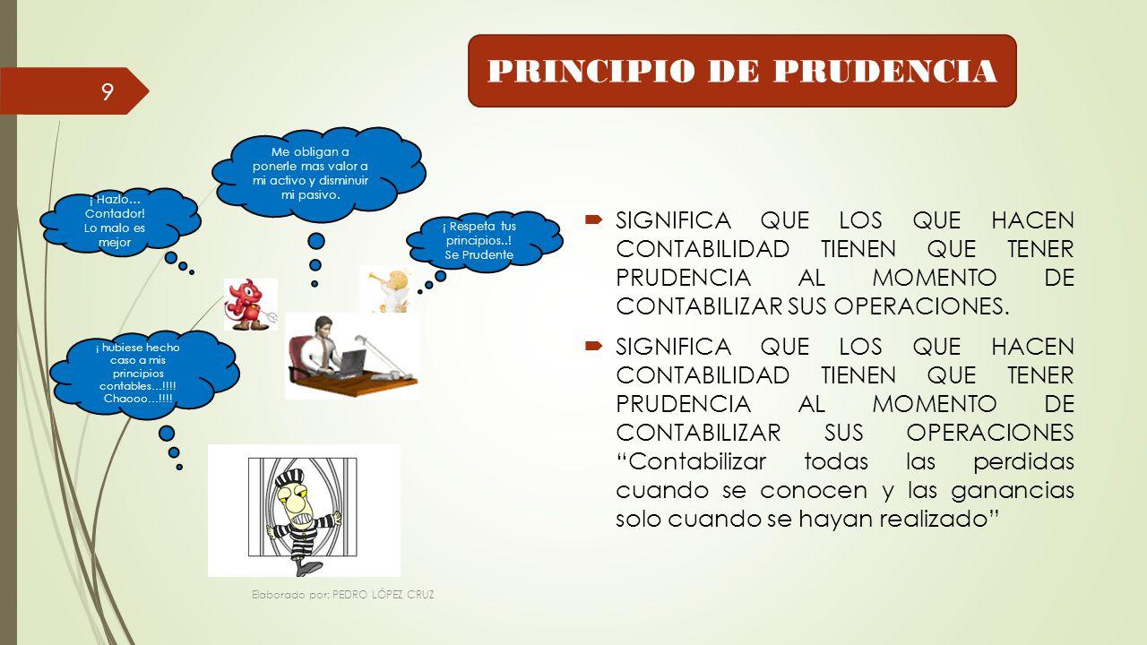 PRINCIPIO DE PRUDENCIA