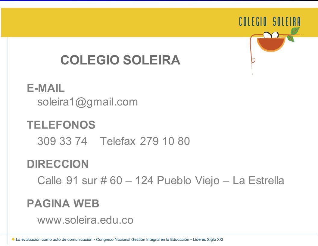 COLEGIO SOLEIRA
