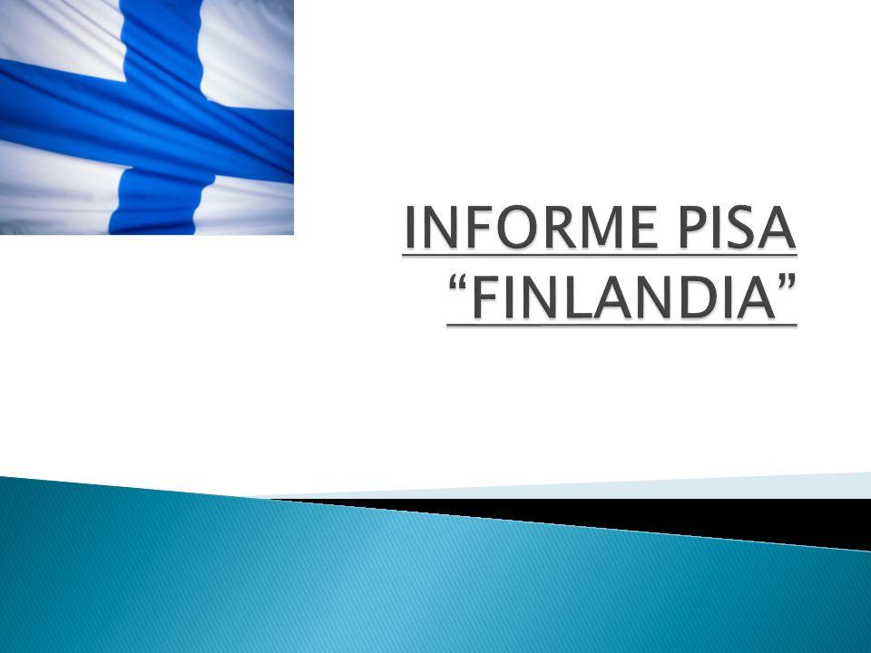 INFORME PISA FINLANDIA