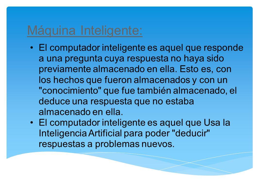Máquina Inteligente:
