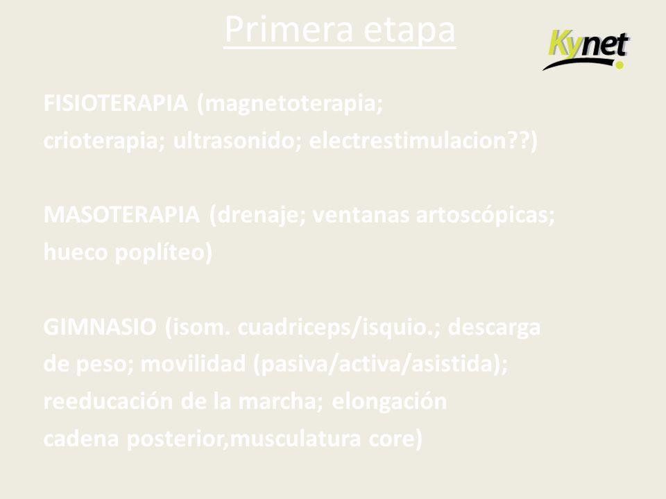 Primera etapa FISIOTERAPIA (magnetoterapia;