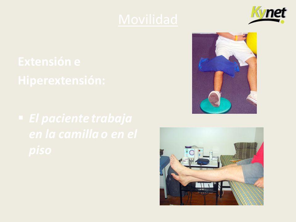 Movilidad Extensión e Hiperextensión: