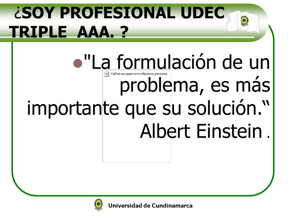 ¿SOY PROFESIONAL UDEC TRIPLE AAA.