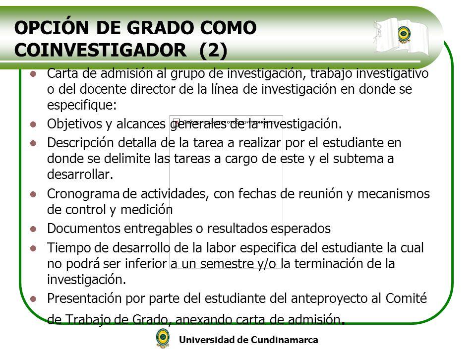 OPCIÓN DE GRADO COMO COINVESTIGADOR (2)
