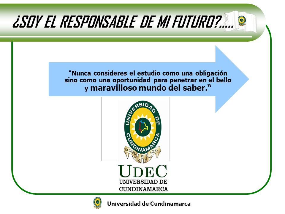 ¿SOY EL RESPONSABLE DE MI FUTURO …..