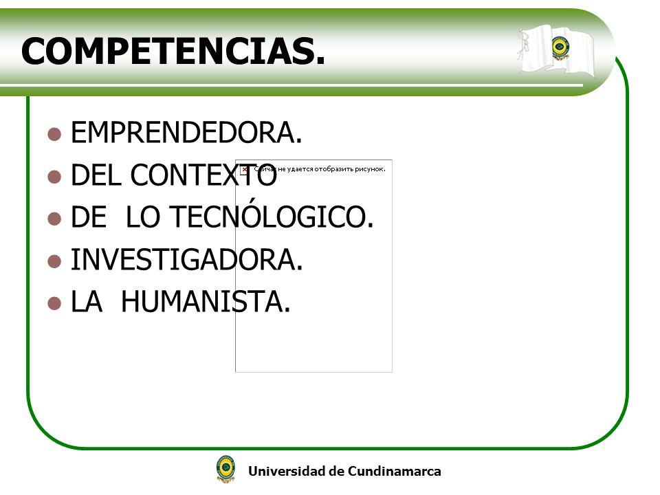 COMPETENCIAS. EMPRENDEDORA. DEL CONTEXTO DE LO TECNÓLOGICO.