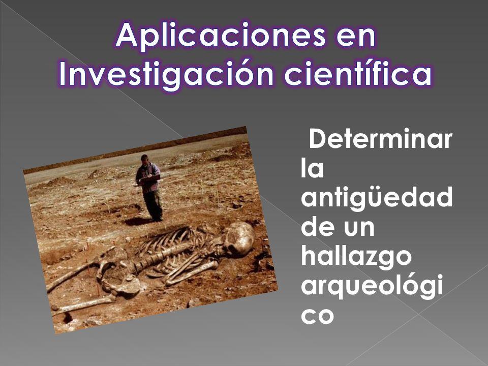 Aplicaciones en Investigación científica