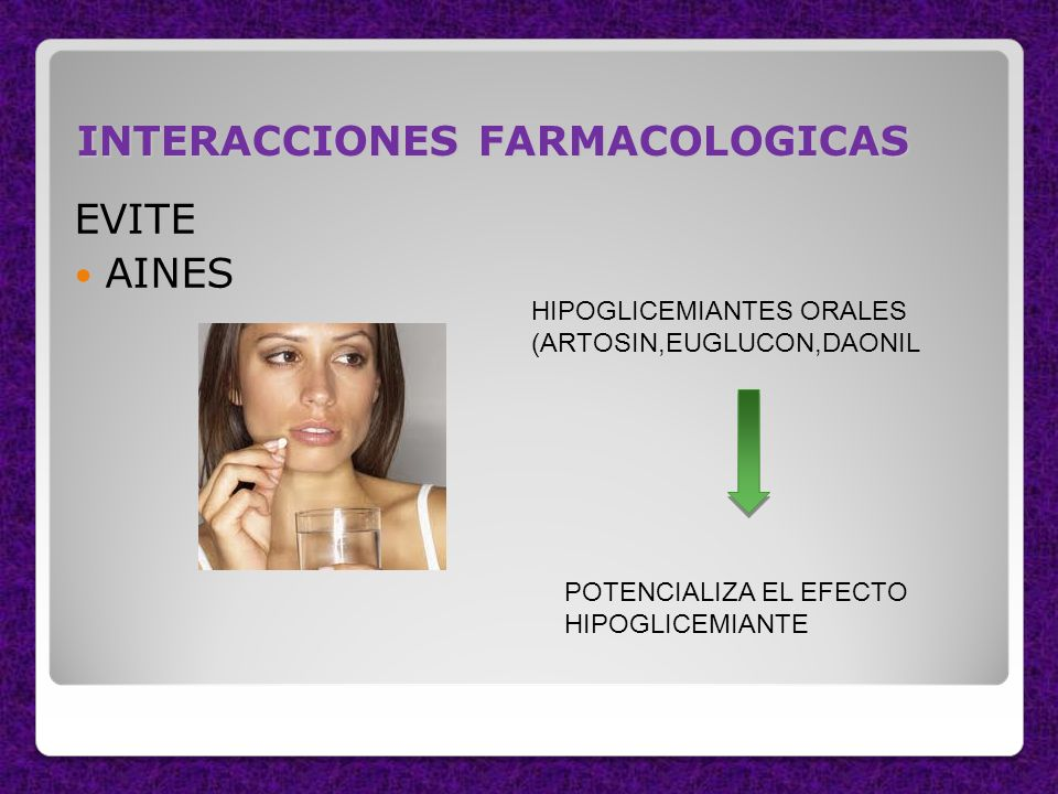 INTERACCIONES FARMACOLOGICAS