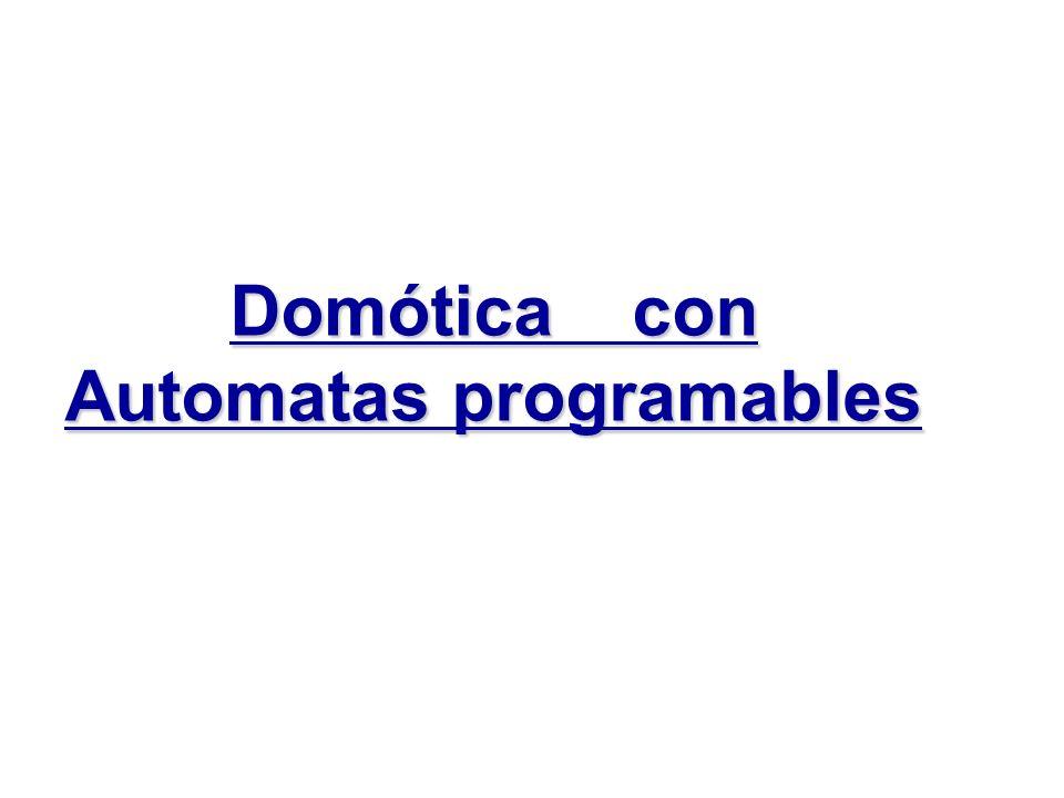 Domótica con Automatas programables