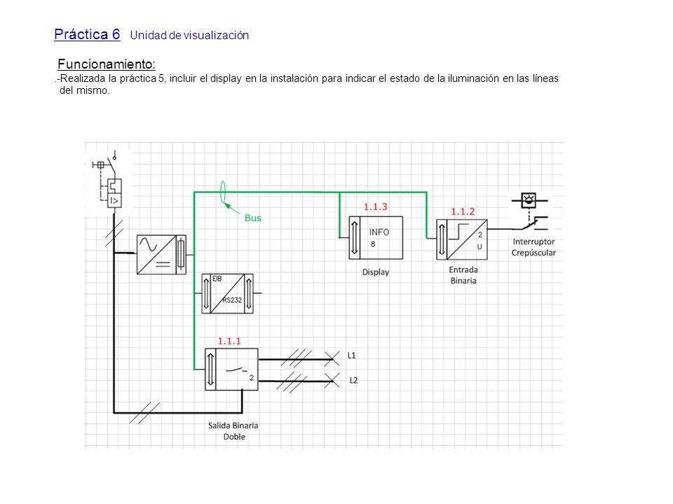 Práctica 6 Unidad de visualización