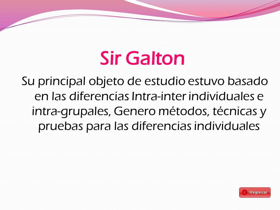 Sir Galton