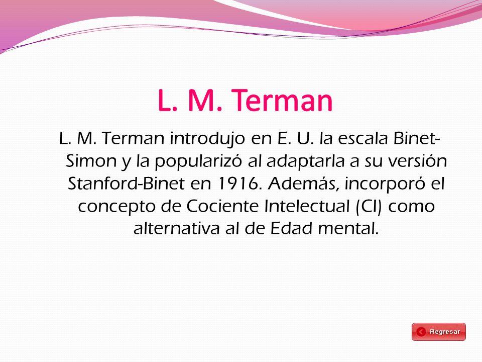 L. M. Terman