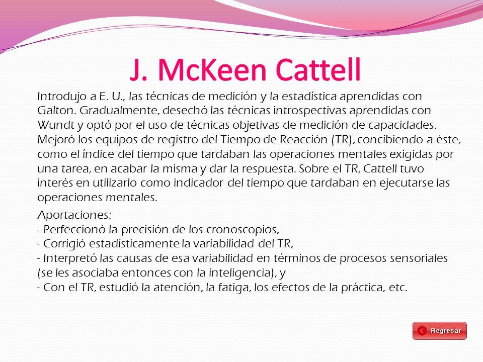 J. McKeen Cattell