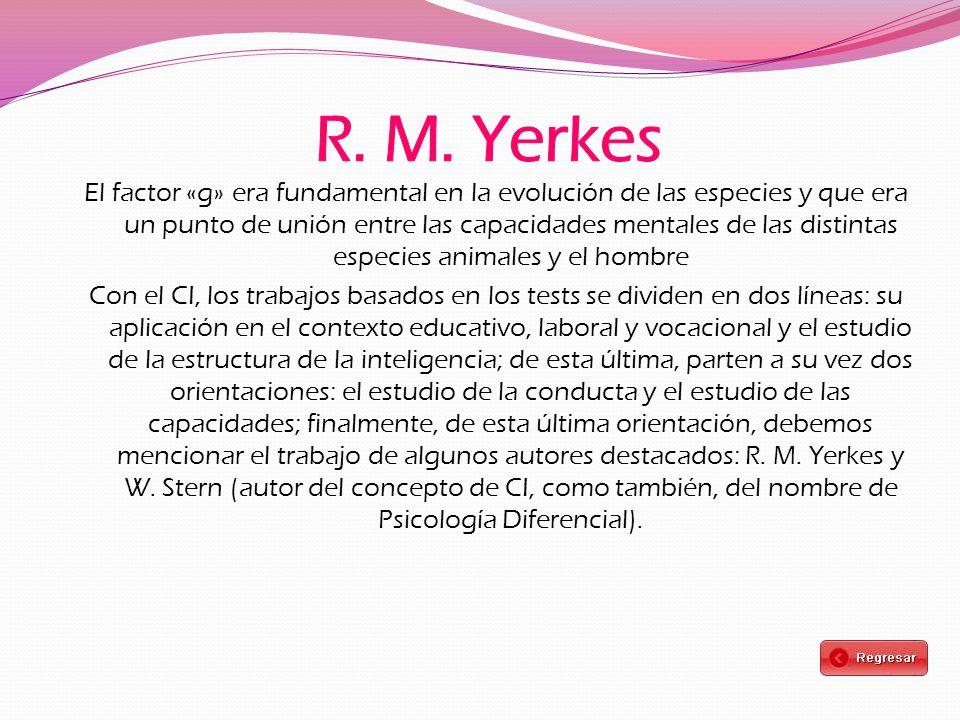 R. M. Yerkes