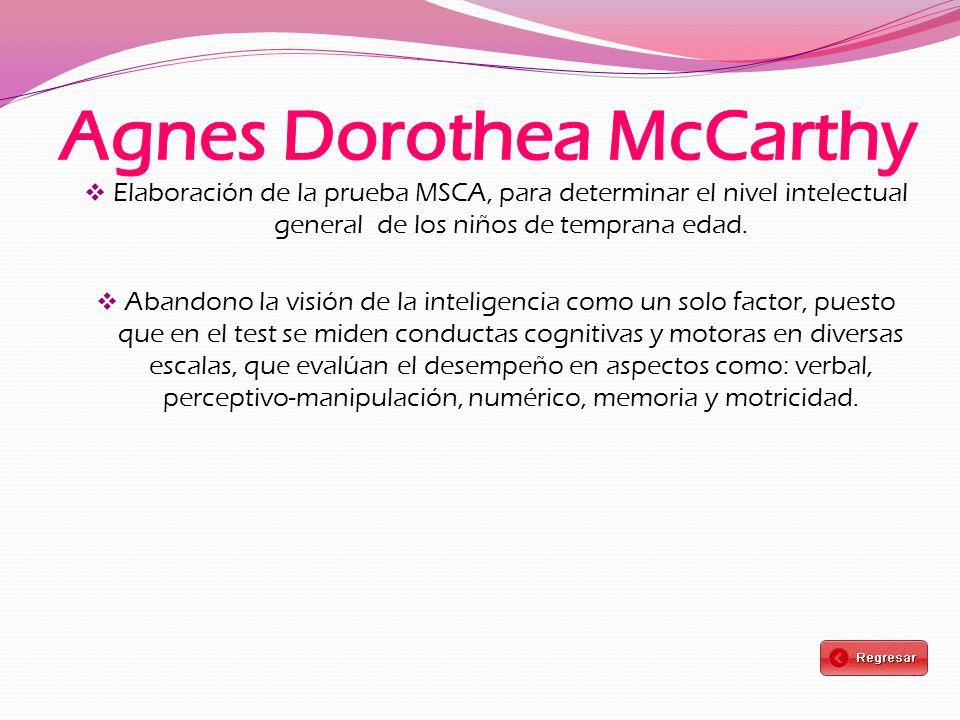 Agnes Dorothea McCarthy