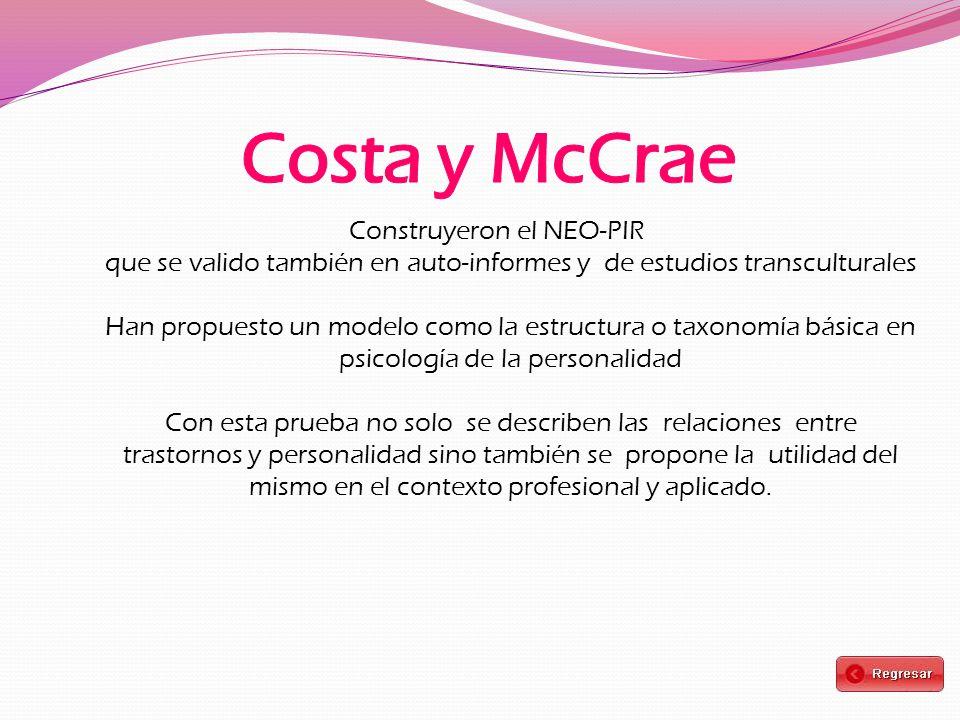 Costa y McCrae