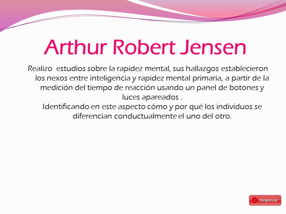 Arthur Robert Jensen