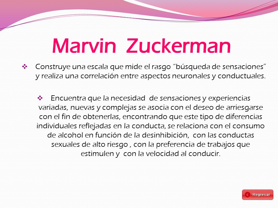 Marvin Zuckerman