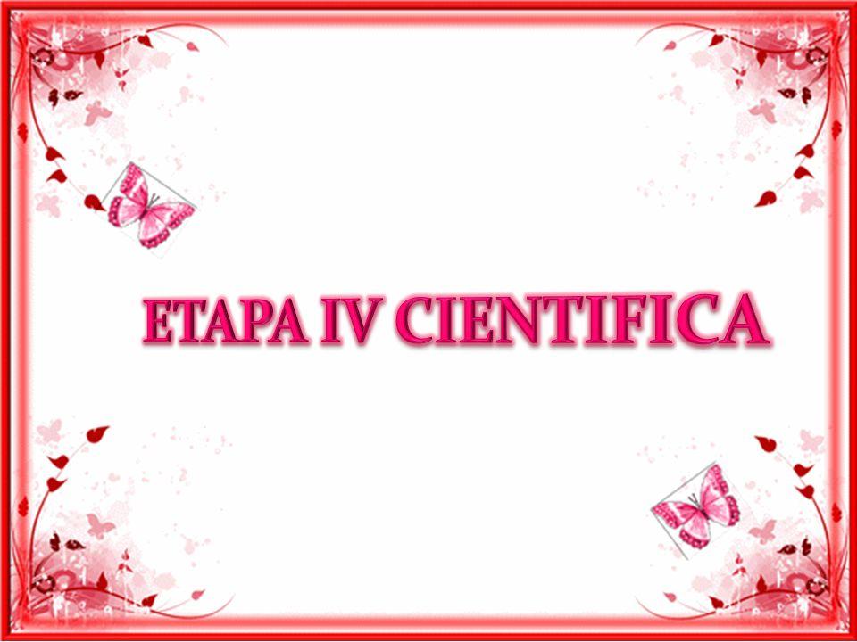 ETAPA IV CIENTIFICA