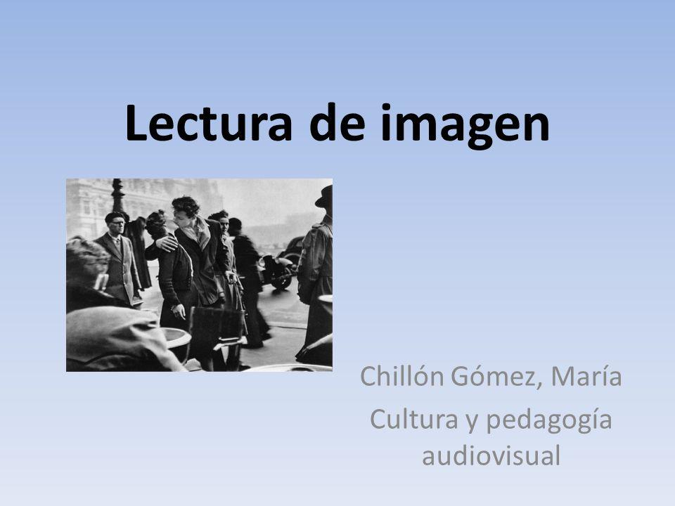 Chillón Gómez, María Cultura y pedagogía audiovisual