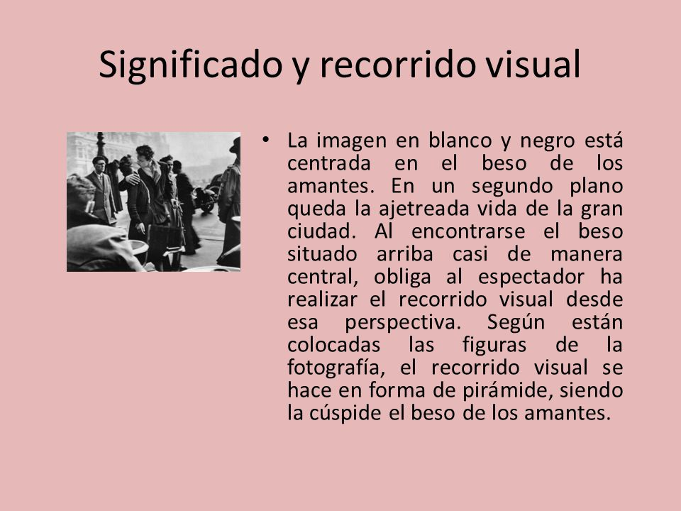 Significado y recorrido visual