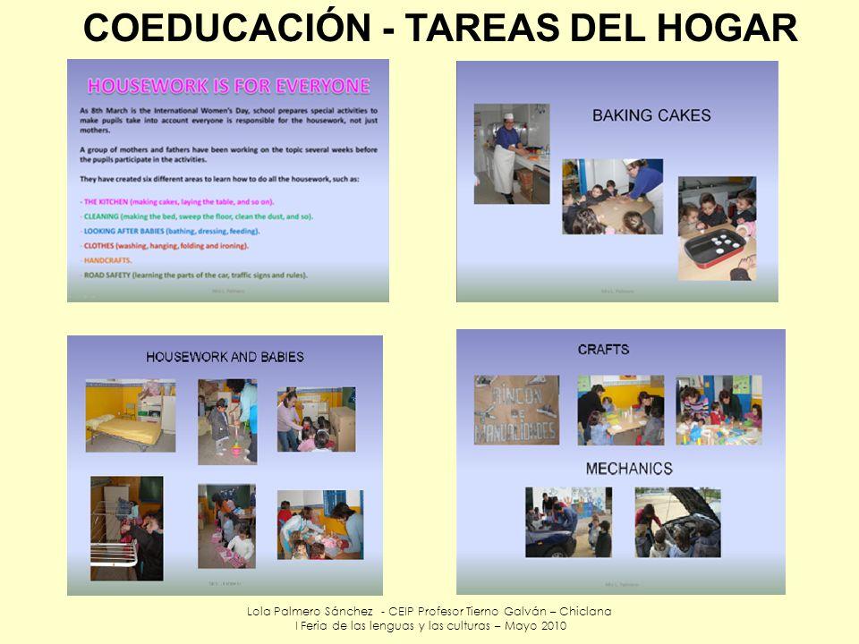 COEDUCACIÓN - TAREAS DEL HOGAR