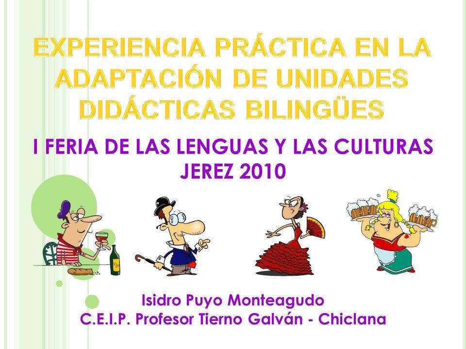 I FERIA DE LAS LENGUAS Y LAS CULTURAS JEREZ 2010