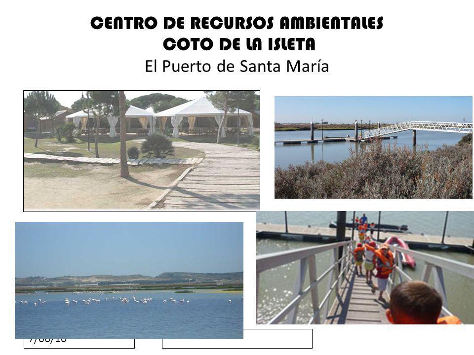 CENTRO DE RECURSOS AMBIENTALES COTO DE LA ISLETA El Puerto de Santa María