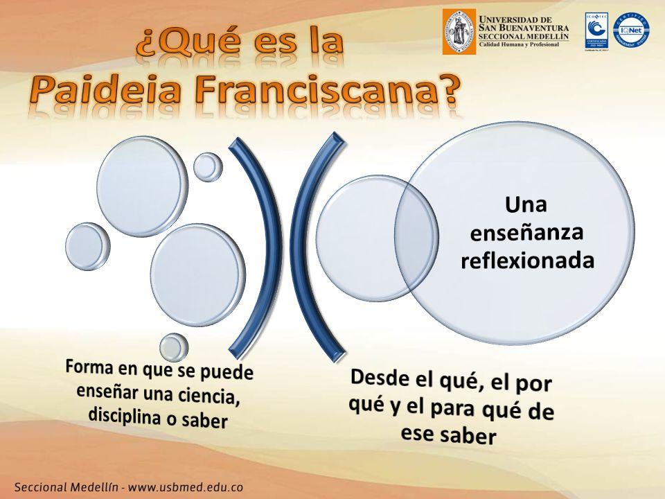 ¿Qué es la Paideia Franciscana