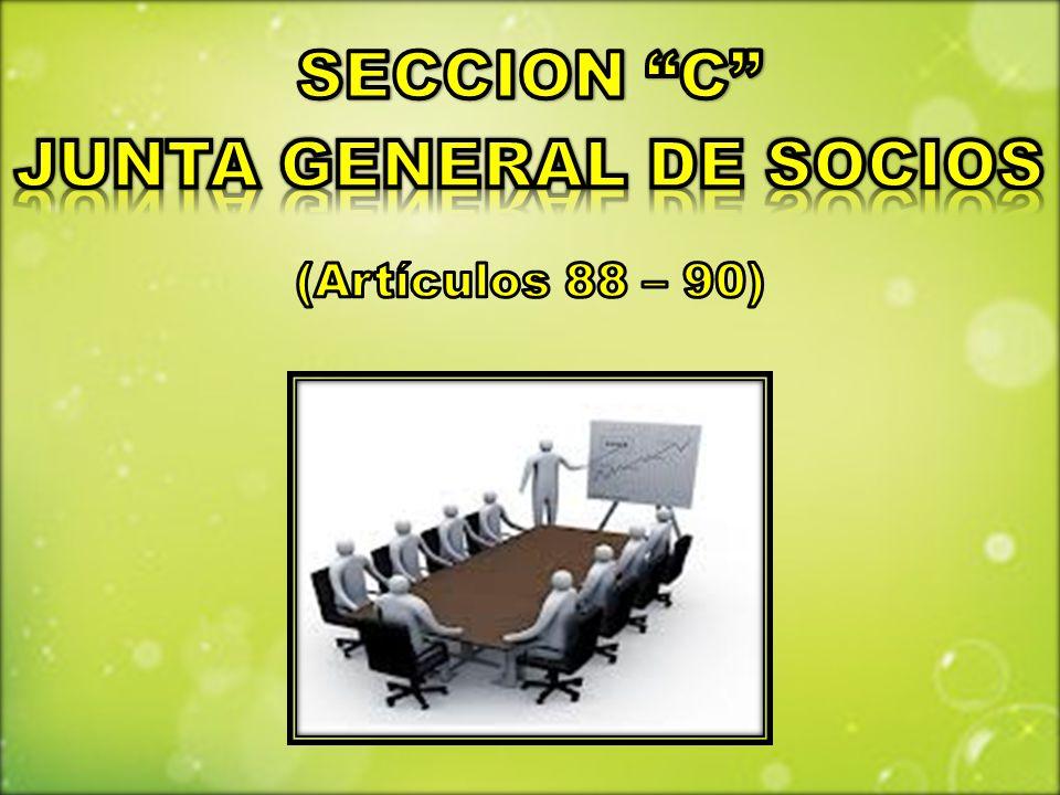 JUNTA GENERAL DE SOCIOS