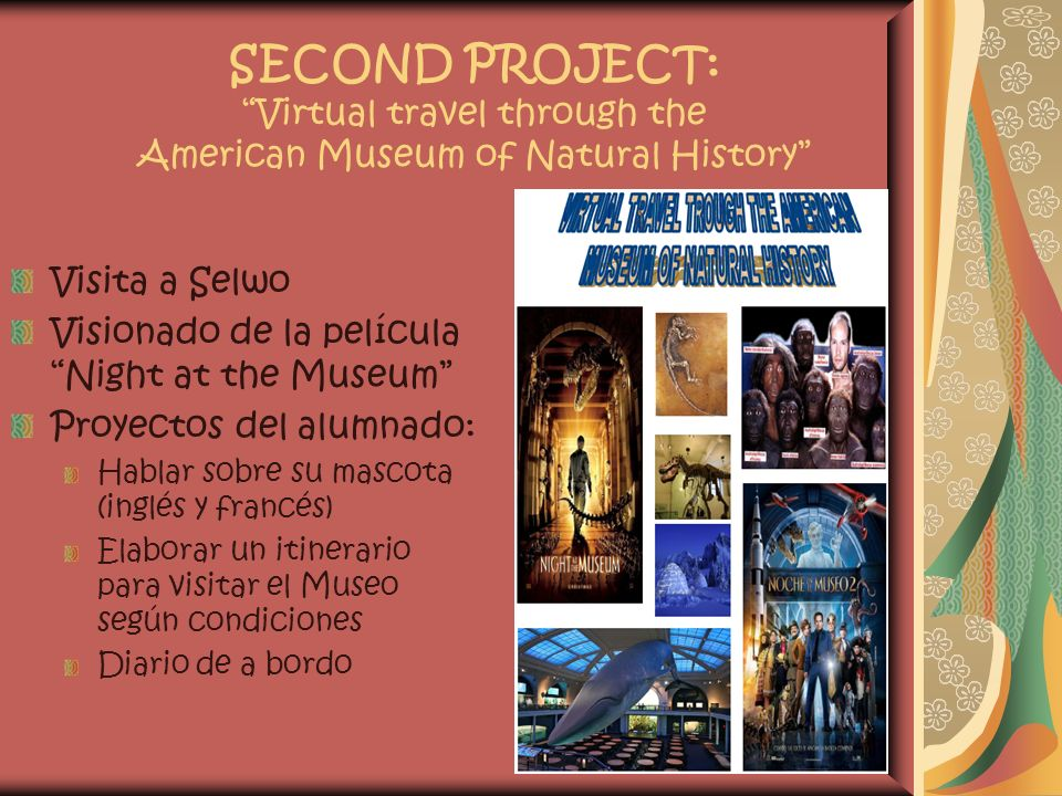 SECOND PROJECT: Virtual travel through the American Museum of Natural History