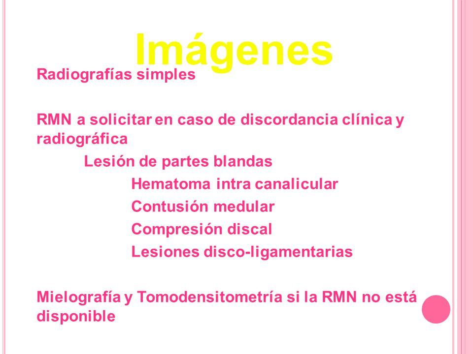 Imágenes Radiografías simples