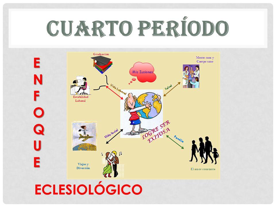 CUARTO PERÍODO ENFOQUE ECLESIOLÓGICO