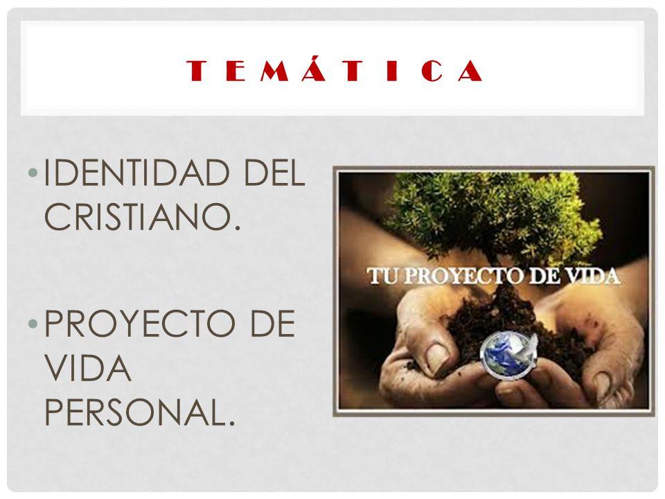 IDENTIDAD DEL CRISTIANO.