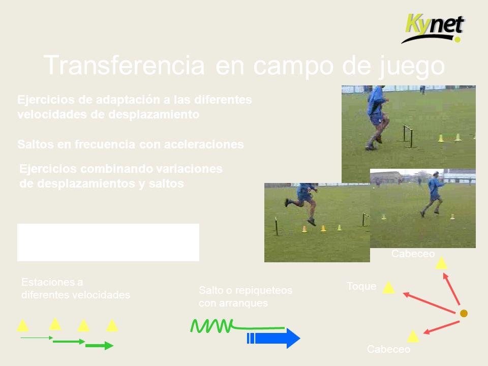 Transferencia en campo de juego