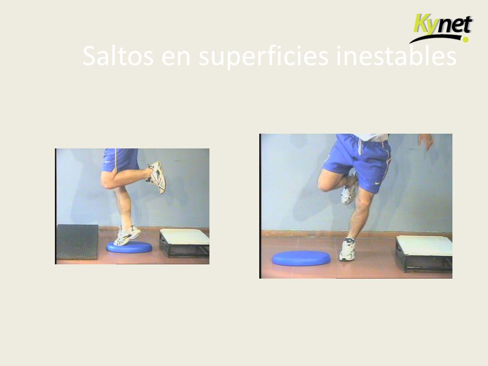 Saltos en superficies inestables