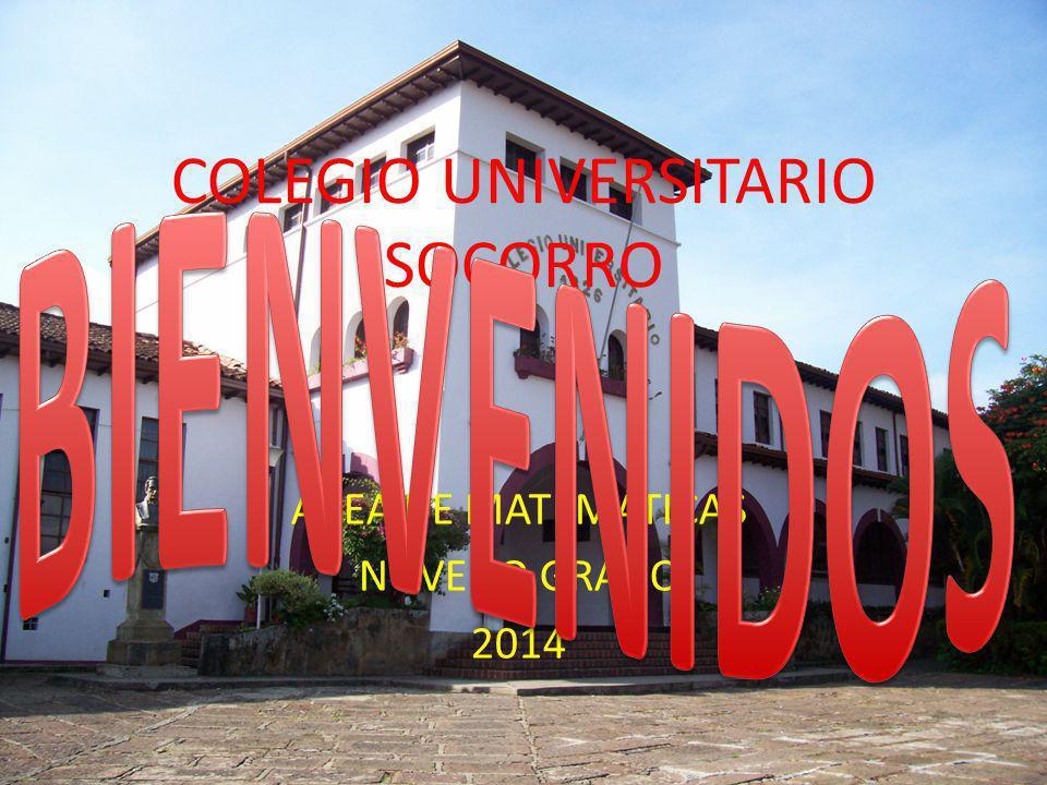 COLEGIO UNIVERSITARIO SOCORRO