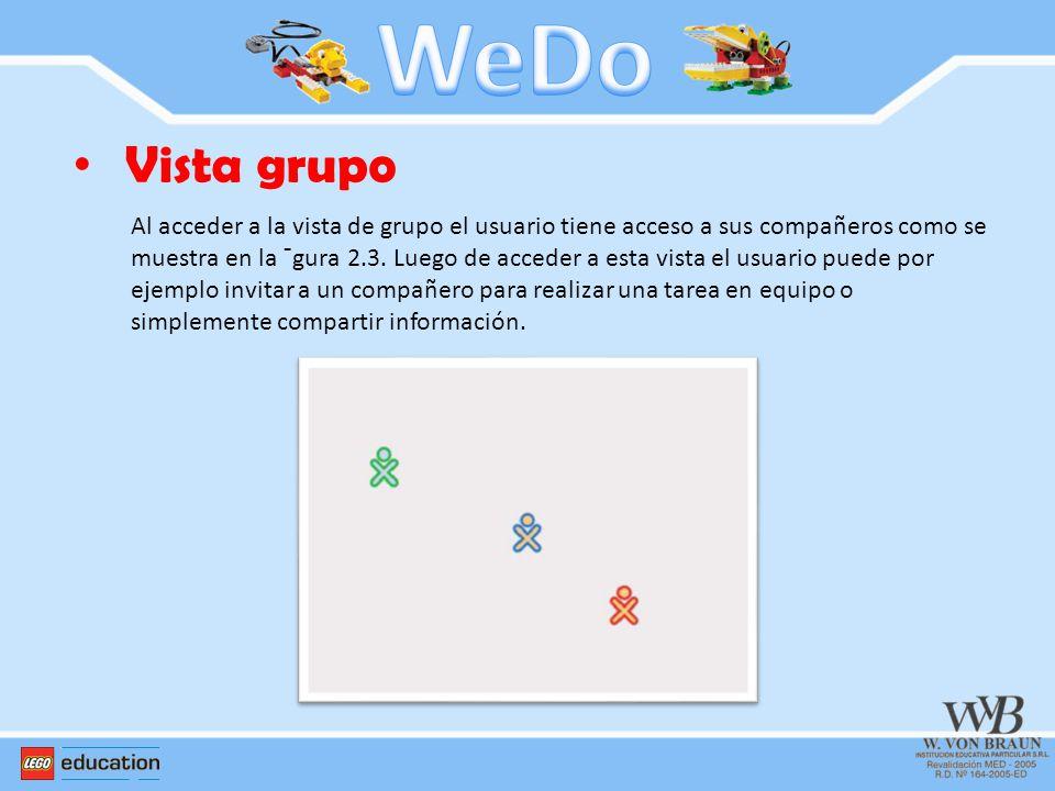WeDo Vista grupo.