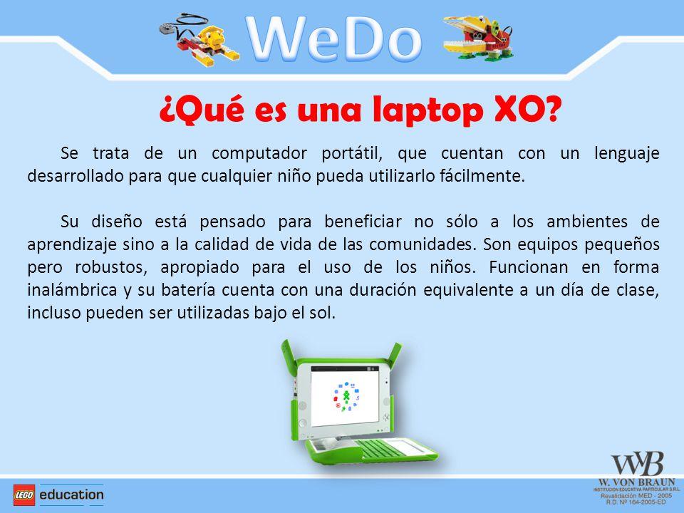 WeDo ¿Qué es una laptop XO