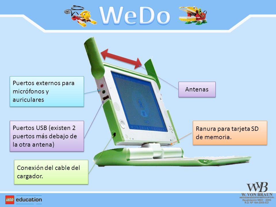 WeDo Puertos externos para micrófonos y auriculares Antenas