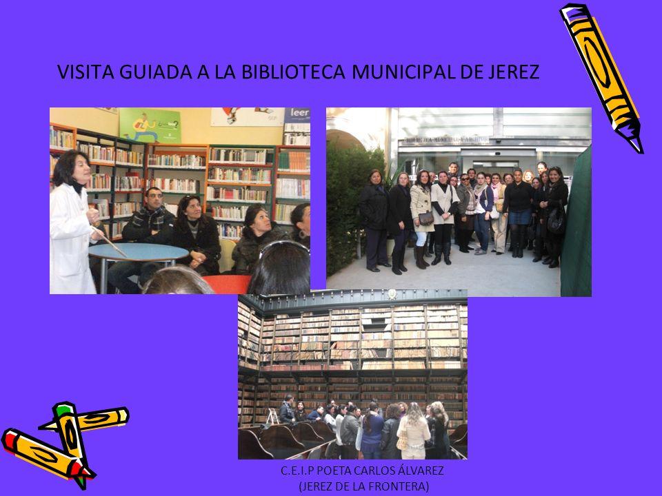 VISITA GUIADA A LA BIBLIOTECA MUNICIPAL DE JEREZ