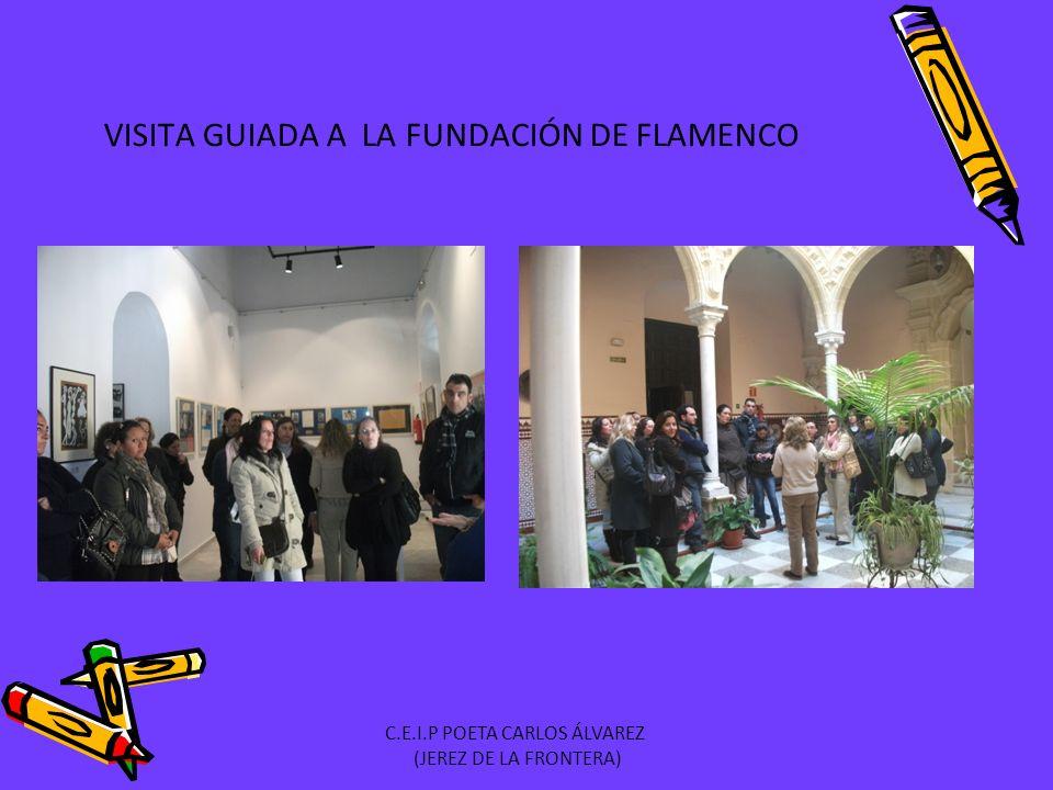 VISITA GUIADA A LA FUNDACIÓN DE FLAMENCO