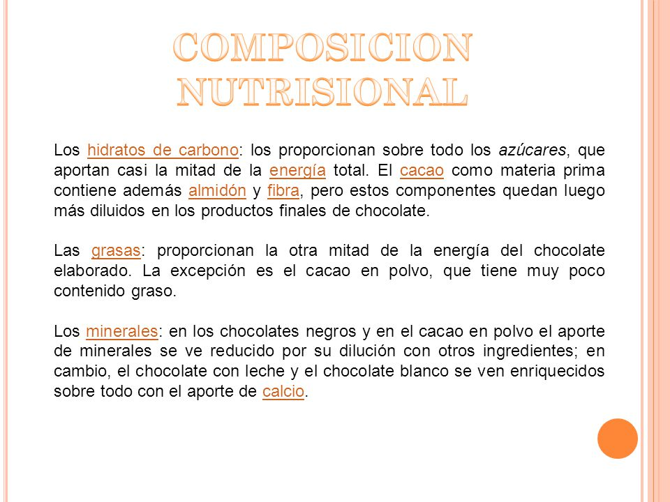 COMPOSICION NUTRISIONAL